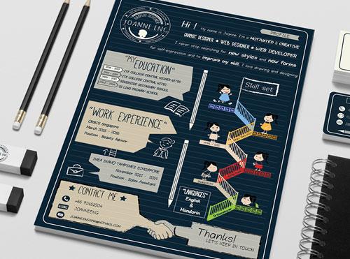 creative-resume-design-for-developers-graphic-web-designers-2