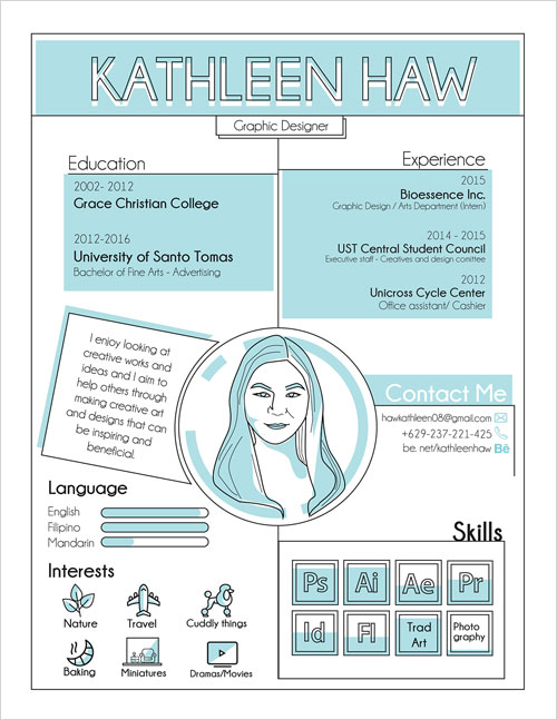 creative-two-color-flat-resume-template-for-designers