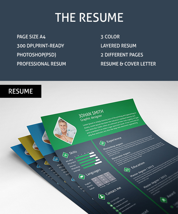 free-3-color-flat-resume-template-cover-letter-for-graphic-designers-1