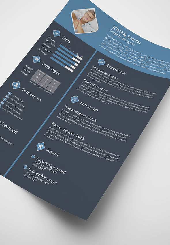 free-3-color-flat-resume-template-cover-letter-for-graphic-designers-4