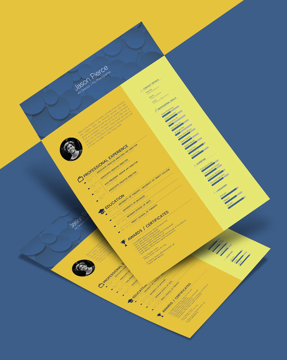 Free-Resume-CV-Template-for-graphic-designers-2
