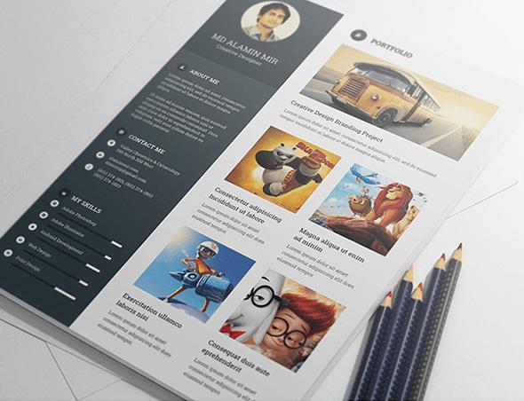 free-resume-template-with-portfilio-cover-letter-for-creative-designer-2
