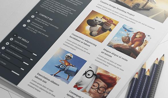 free-resume-template-with-portfilio-cover-letter-for-creative-designer-4