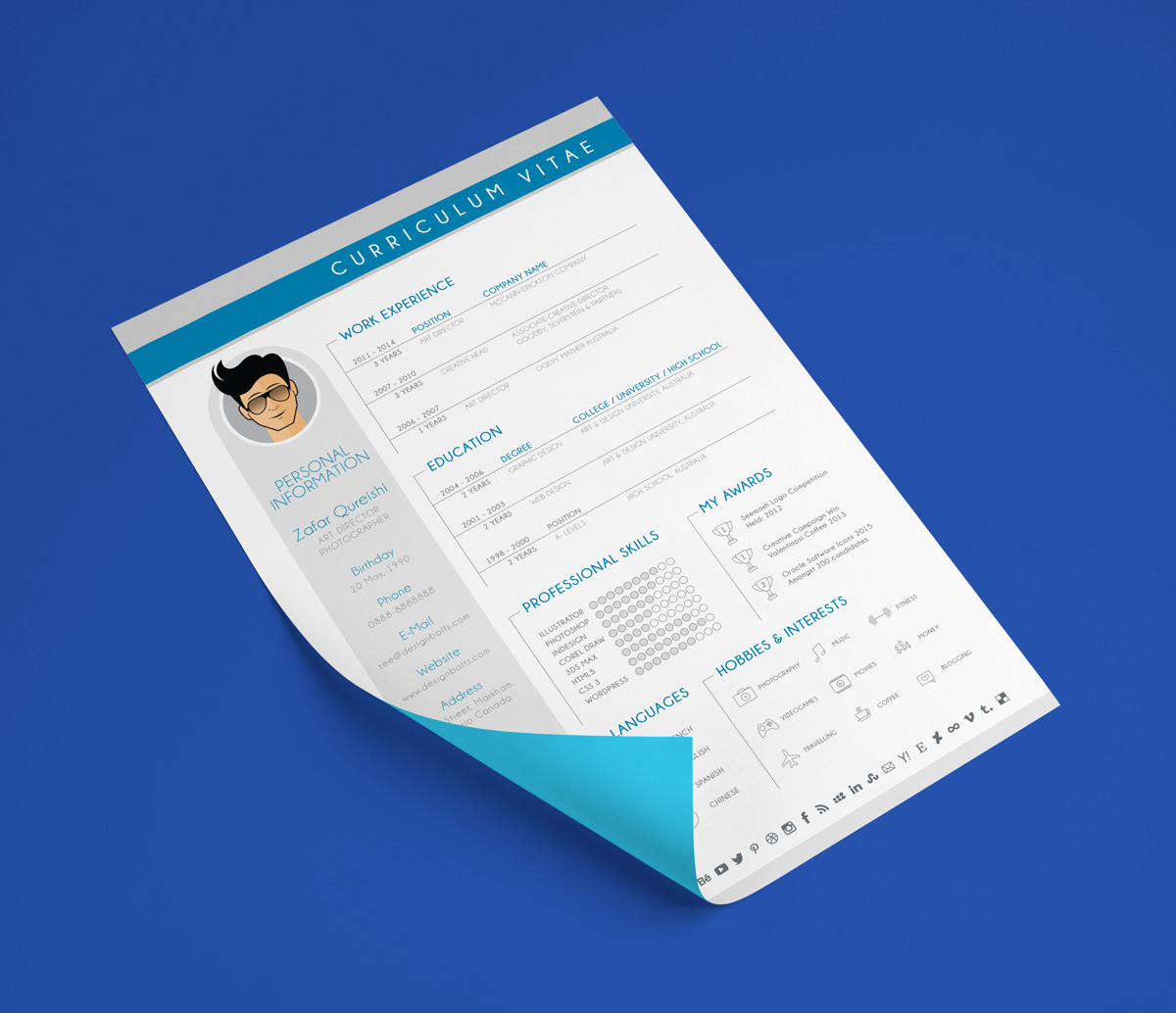 free-simple-resume-template-for-graphic-design