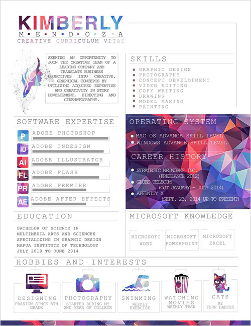 polygonal-creative-resume-template-for-designers