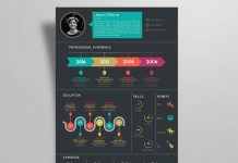 Creative-Infographic-Resume-design-Template-with-Cover-Letter