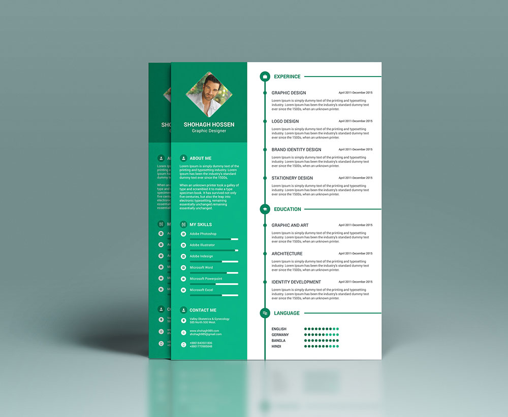 clean resume design template in psd format good resume clean resume design template in psd format