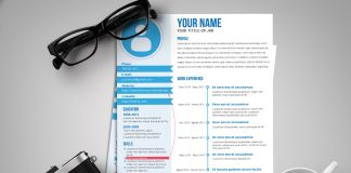 Free Fresh Creative Resume Template Design Ai File (1)