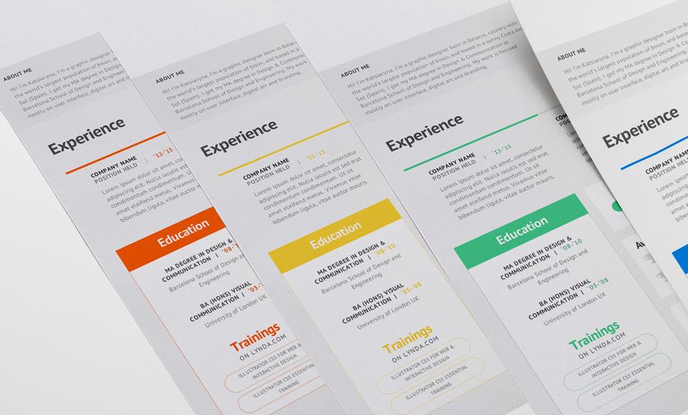 Free - Good Resume For Good Job (4)