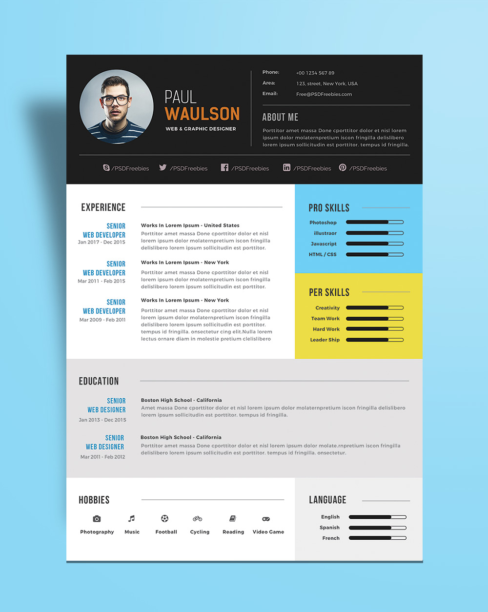 Free-Modern-Resume-Template-For-Web--Graphic-Designer-PSD-File-(4)