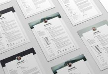 Free-Resume-CV-Design-Template-&-Cover-Letter-In-DOC,-PSD,-AI-&-INDD-(9)