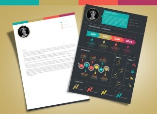 Free-Creative-Infographic-Resume-Template-With-Cover-Letter-INDD-File-(01)