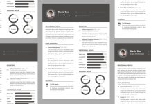 Free-Elegant-Resume-CV-Design-Template-PSD-File-1-218x150 Template Cover Letter Job Free Black Elegant Resume Cv Design Ukzwbd on