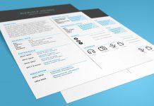 Free Multipurpose Resume (CV) Design Template PSD File (1)