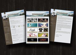 Free-Modern-Resume-CV-Portfolio-Cover-Letter-Design-Template-Ai-good-resume