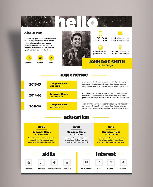 Creative Cv Design from good-resume.com