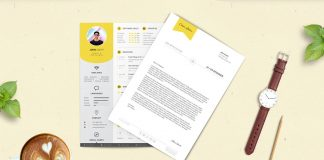 Free-Professional-Resume-(CV)-Design-Template-With-Cover-Letter-PSD-Files-(3)