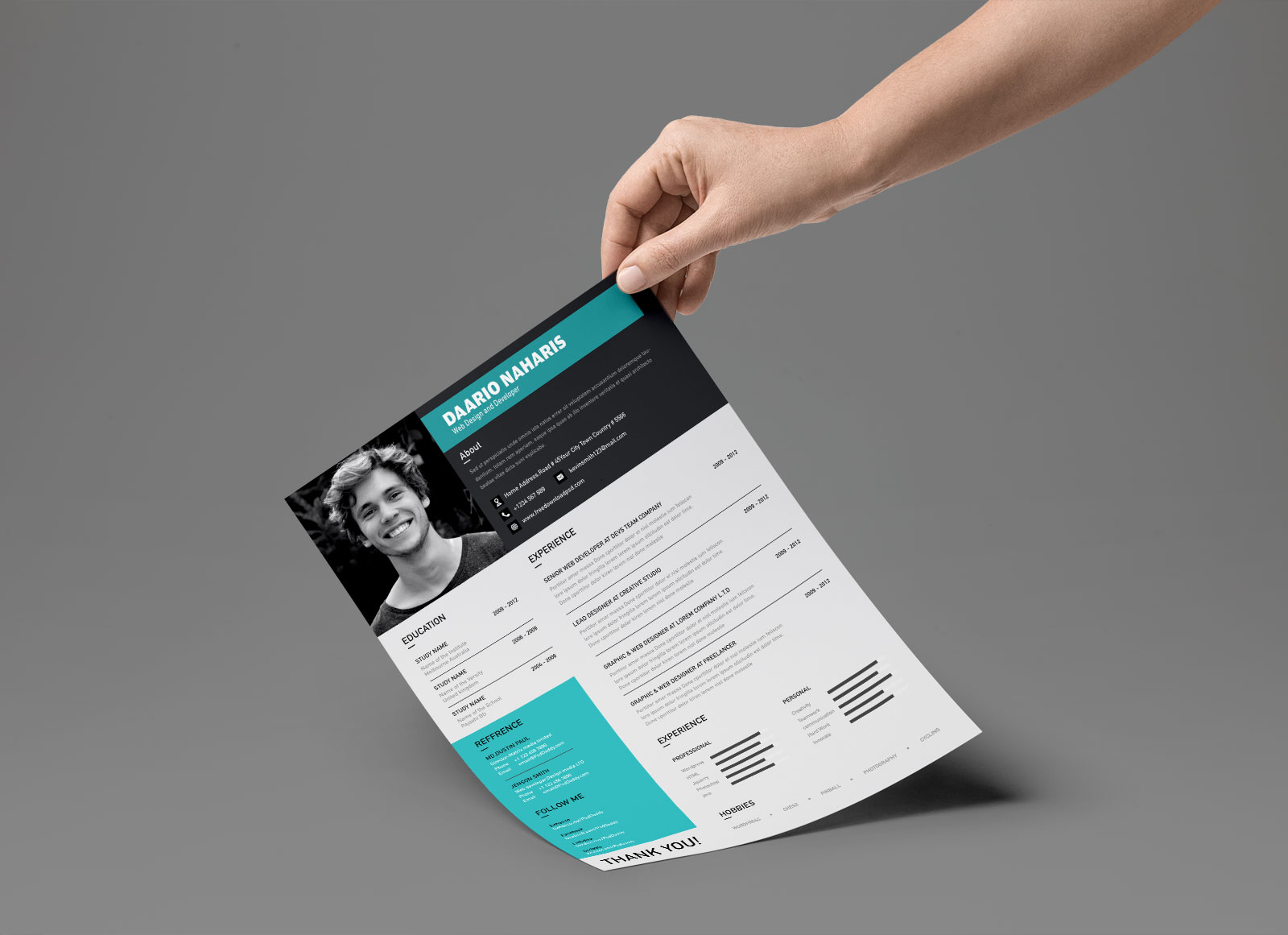 Best-Free-Modern-Resume-Template-in-PSD-Format