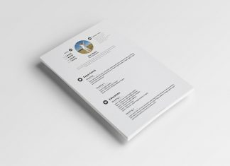 Download-Free-Simple-PSD-Resume-Template-2