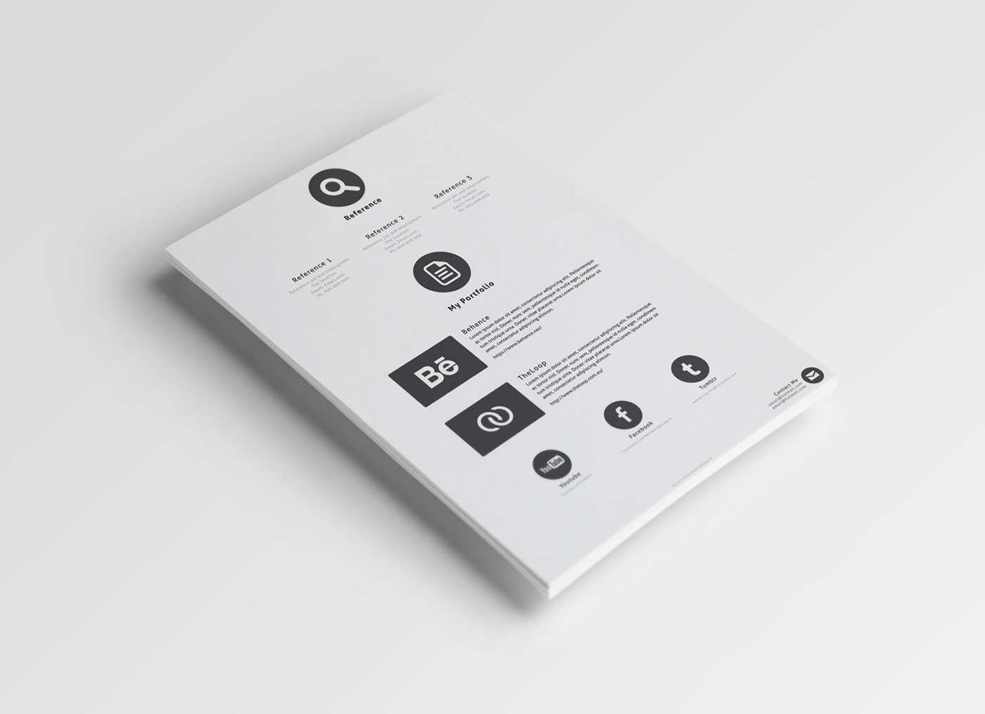 Download-Free-Simple-PSD-Resume-Template-3