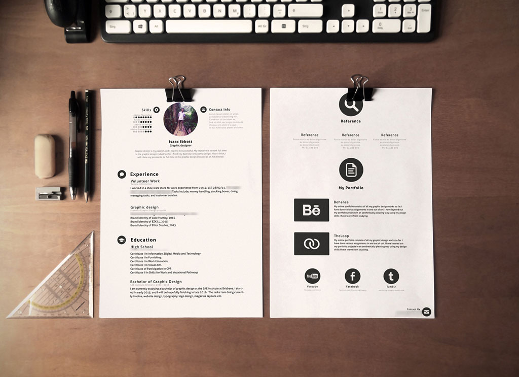 Download-Free-Simple-PSD-Resume-Template-4