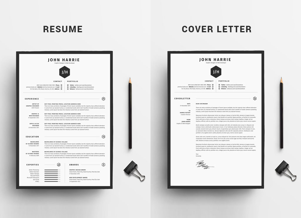 Fre-Clean-Resume-CV-+-Cover-Letter-Template-in-Word,-PSD-&-AI-3