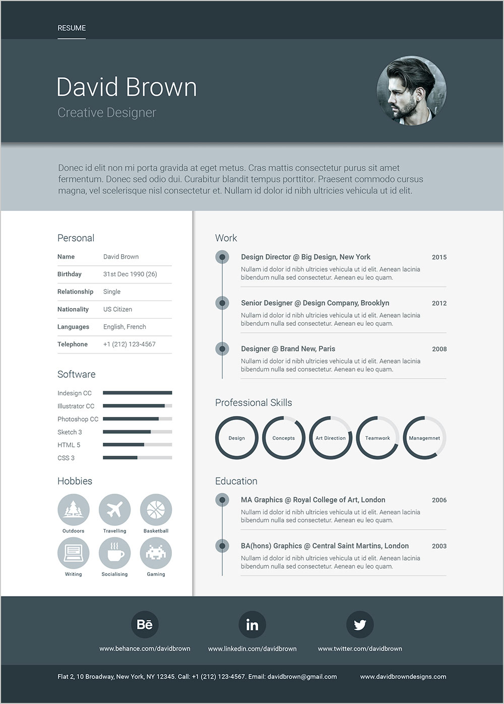Free-A4-Material-Resume-Design-Template-in-PSD,-Ai-&-INDD-2