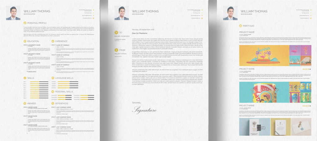 Free-CV-Resume-Cover-Letter-&-Portfolio-Design-Template-in-Photoshop-PSD-&-Indesign-INDD-Format-2