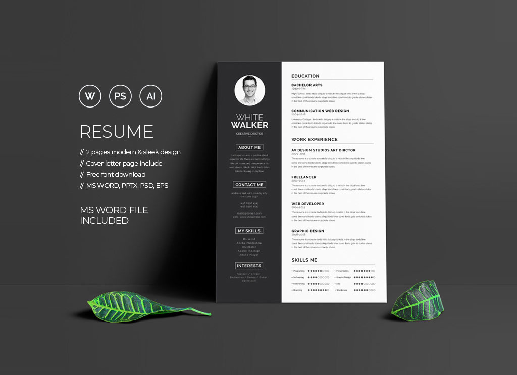 Free-Clean-Resume-Template-&-Cover-Letter-in-Word-PSD-PPTX-&-EPS- (1)