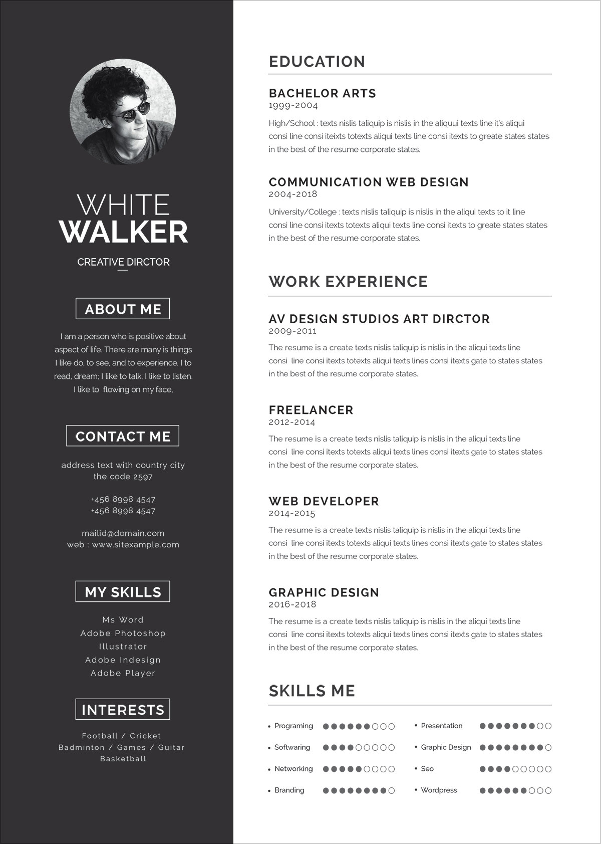 Free-Clean-Resume-Template-&-Cover-Letter-in-Word-PSD-PPTX-&-EPS- (5)