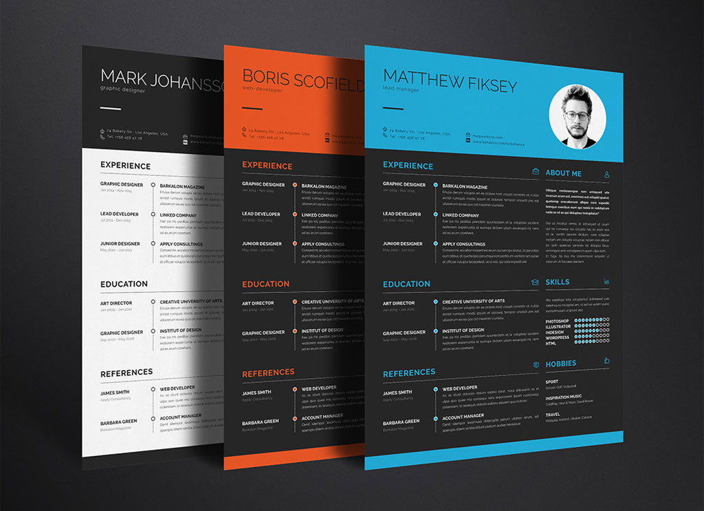 Free-Clean-Resume-Template-in-PSD-Ai-&-INDD-2