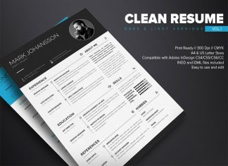 Free-Clean-Resume-Template-in-PSD-Ai-&-INDD