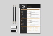 free creative resume letterhead template in indd idml good resume