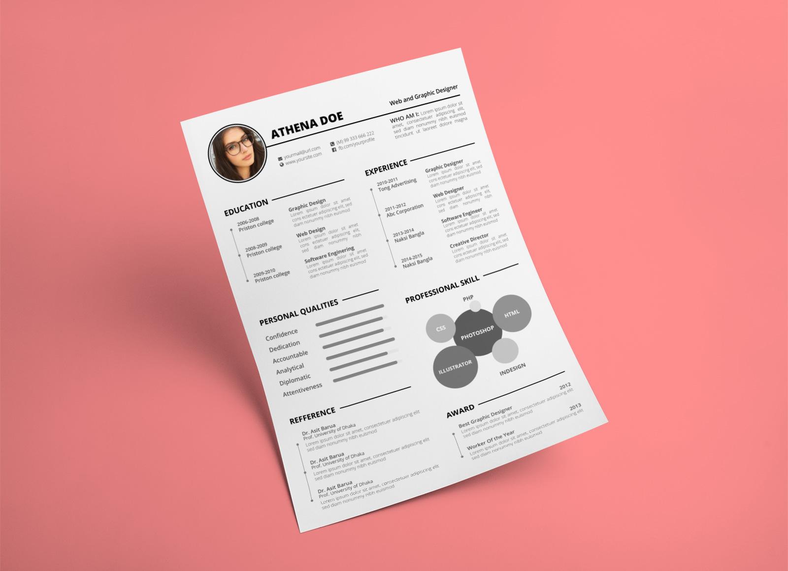 Free-Elegant-CV-Template-in-Word-PSD-&-Ai-Format-1 (1)