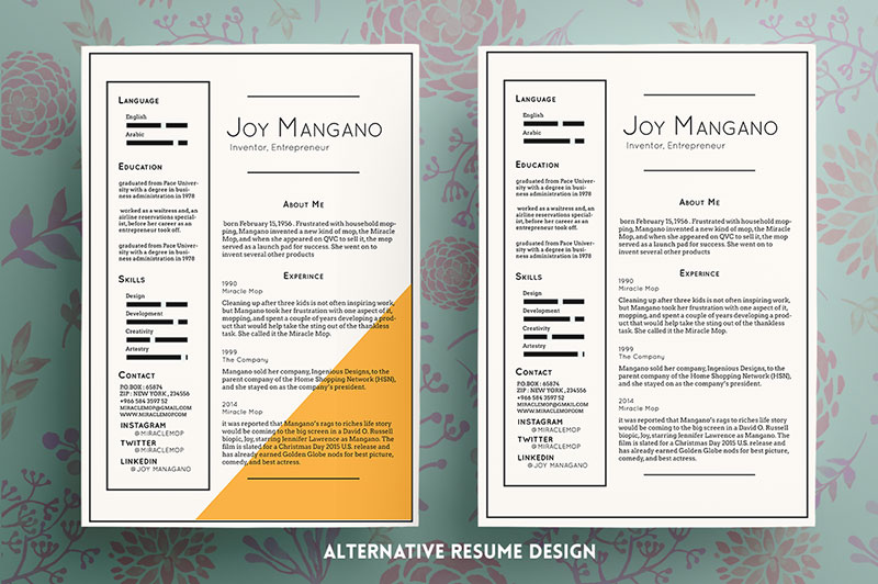Free-Elegant-Resume-PSD-CV-Template-2