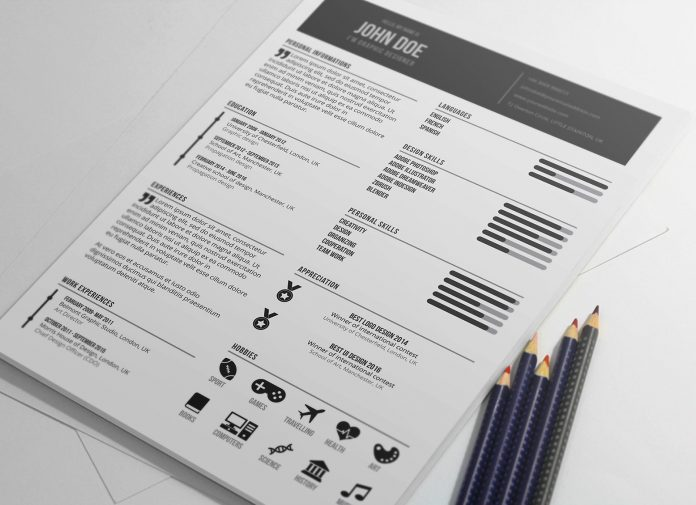 Free-Graphic-Designer-Resume-in-PSD-Format-2