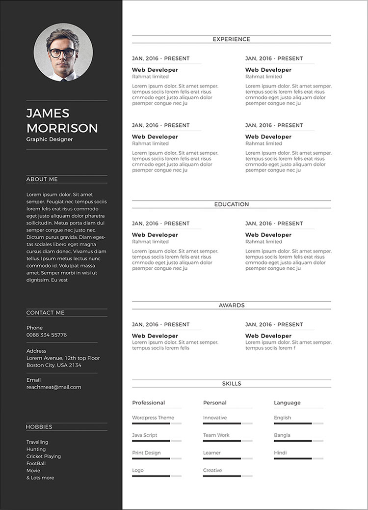 Free-Minimal-CV-Resume-Template-in-Word-Ai-&-PSD (4)