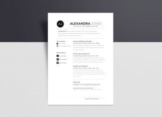 Free-Minimalistic-Resume-Template-in-INDD,-Ai-&-Word-Format-4