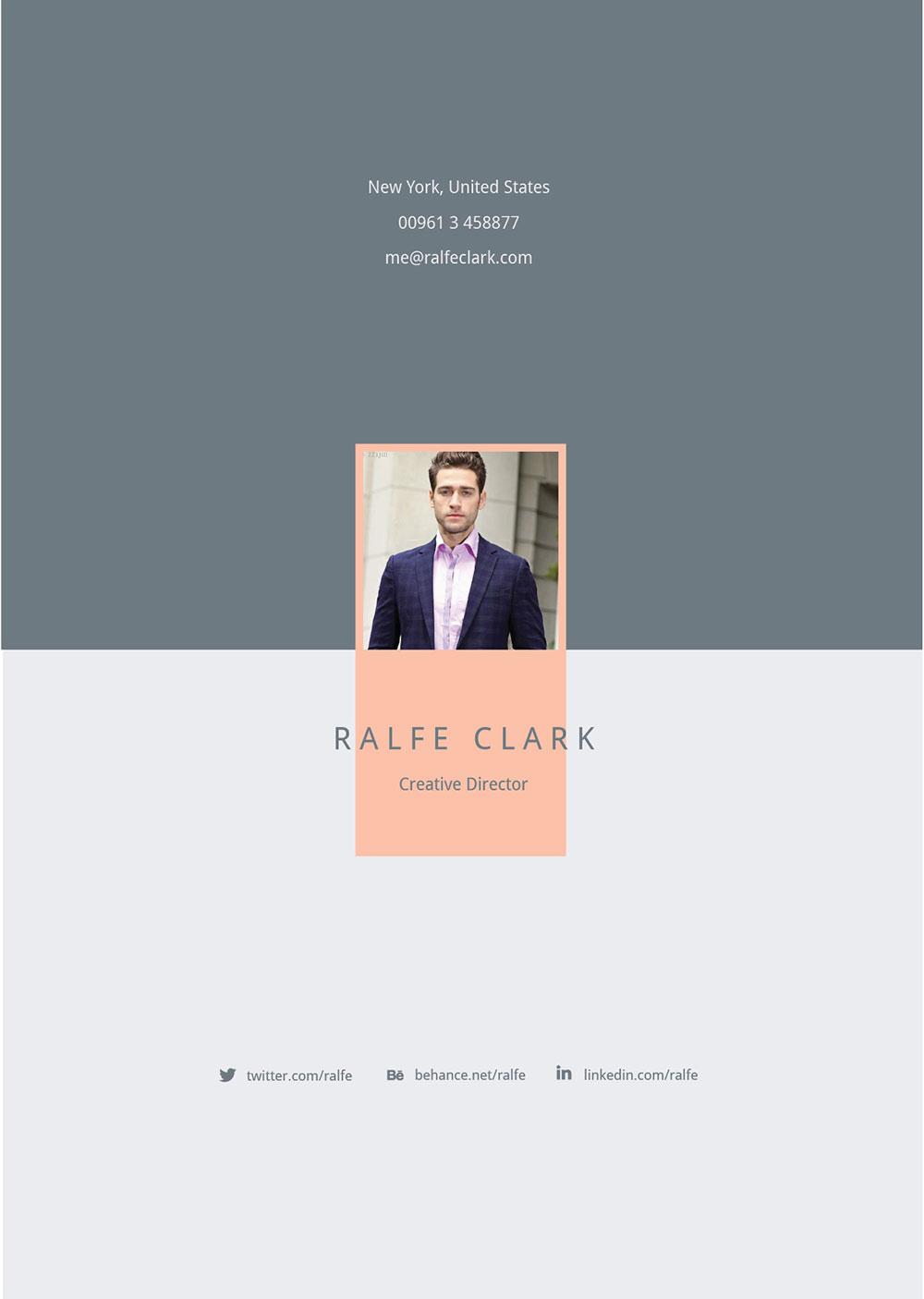 free modern resume template cover letter  u0026 portfolio in ai