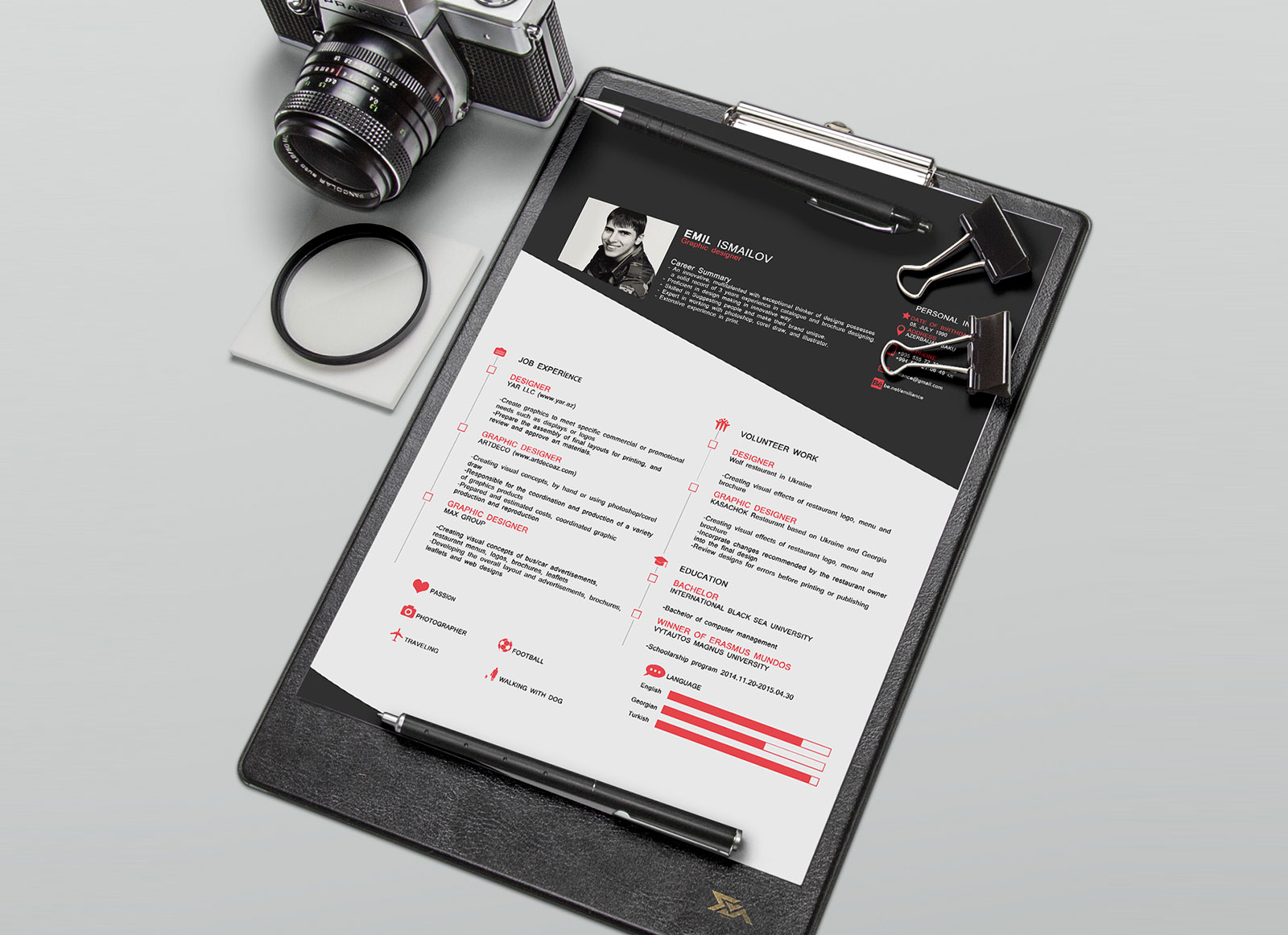 Free-Old-Style-CV-Template-in-PSD-Format-4