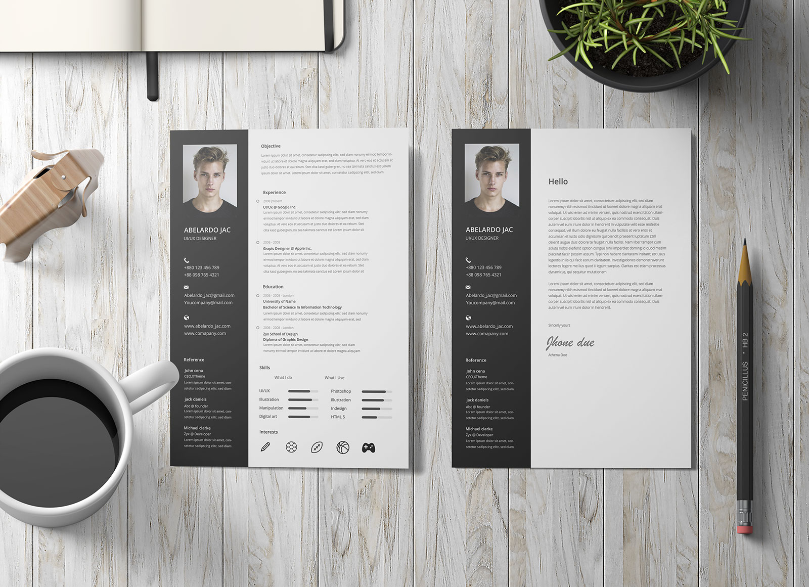 Free-PSD-CV-&-Cover-Letter-Template-Design-for-Web-Designers