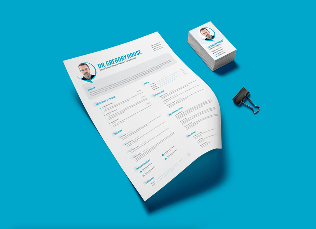 Free-PSD-Resume-Template-for-Doctors-and-Surgeons