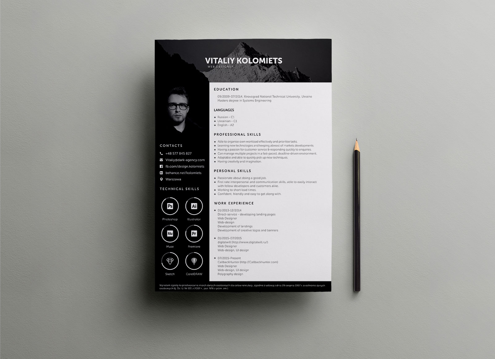 Free-PSD-Resume-Template-for-Web-Developer