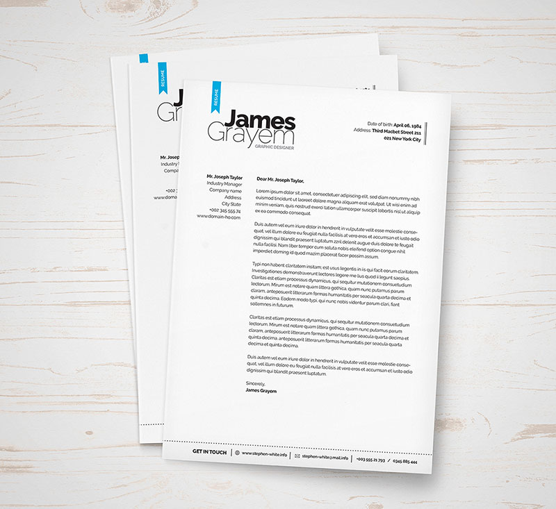 Free-Professional-Resume-CV-Template-&-Cover-Letter-for-Creative-Director-2