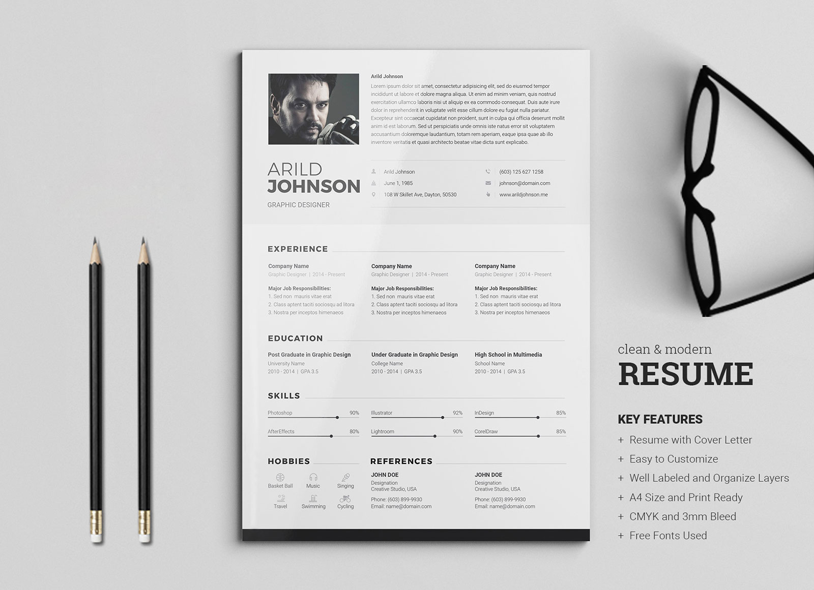 Free-Professional-Resume-Template-for-Managers-&-Directors
