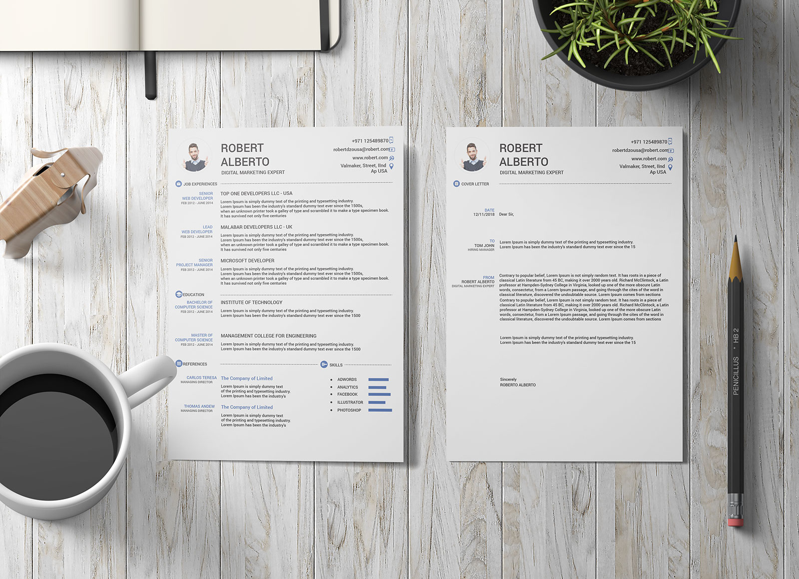 Free-Resume-(CV)-Template-&-Cover-Letter-in-DOC-&-Ai-Format-2