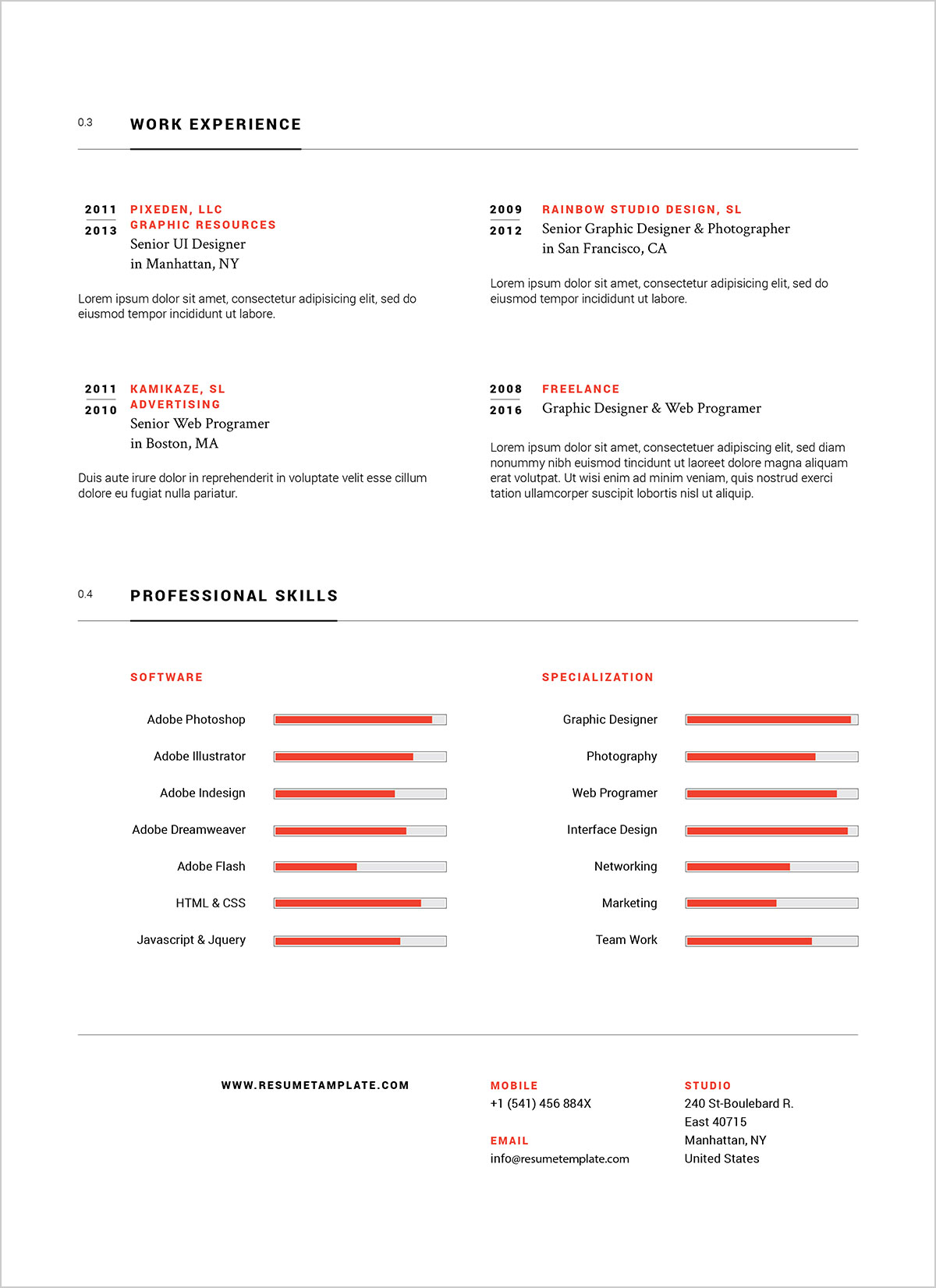 Free-Simple-Professional-Resume-Template-in-Ai-&-EPS-Format-4