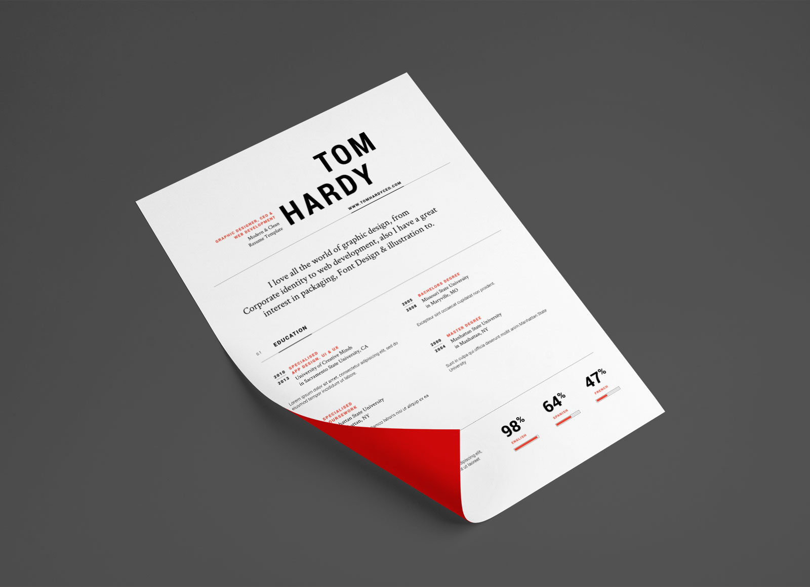 Free-Simple-Professional-Resume-Template-in-Ai-&-EPS-Format