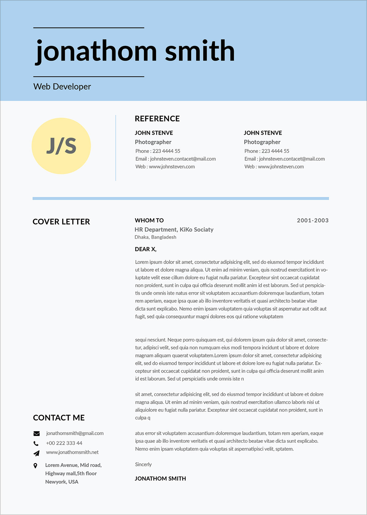 Free-Simple-Resume-Template-For-Web-Developer-in-PSD-Format-5