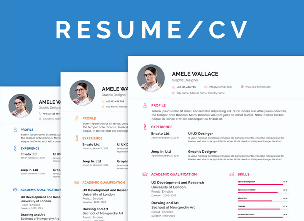 Free-Simple-Resume-Template-in-Photoshop-PSD-Format-4